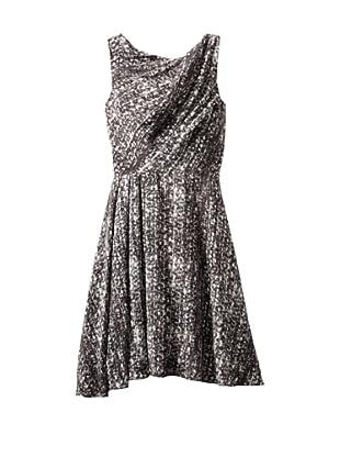 Christian Siriano Women's Print Circle Dress (Static)