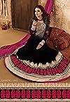 Pakistani Suits Black Anarkali Suit -TBSURMA1830