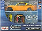 Maisto 1:24 Assembly Line 2011 Ford Mustang GT Die Cast Model Kit (Colors May Vary)