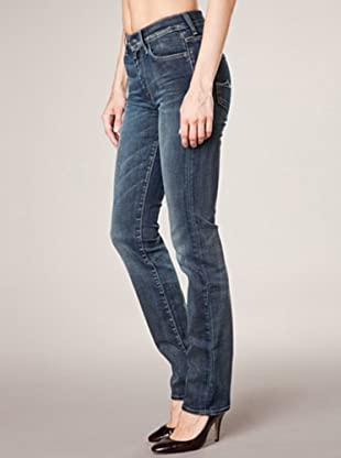 7 for all Mankind 5-Pocket  Trans Risky Absinth Straight Leg (dunkelblau denim)