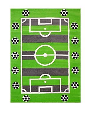 Chic Orange Teppich Joy Kids grün 100x150 cm