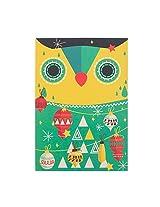 Tinsel Town Owl Greeting Card