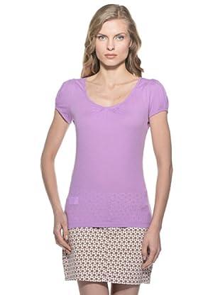 Stefanel T-Shirt (Flieder)