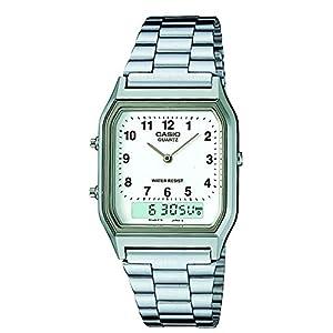 Casio Youth Analog-digital White Dial Men's Watch - AQ-230A-7BMQ (AD02)