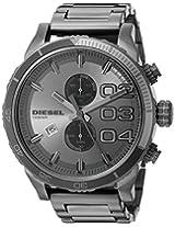 Diesel Double Dow Analog Grey Dial Men's Watch - DZ4314