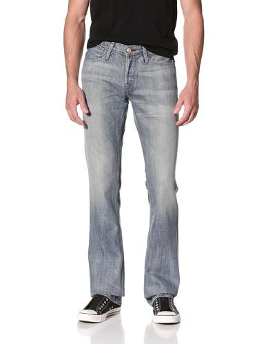 Earnest Sewn Men's Fulton 5 Pocket Straight Jeans (Aston)