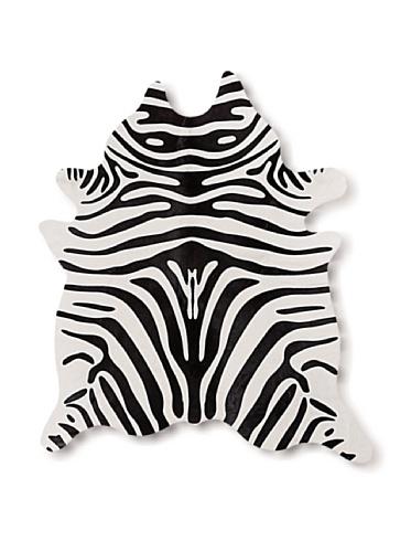 Natural Togo Cowhide Rug (Zebra Print)