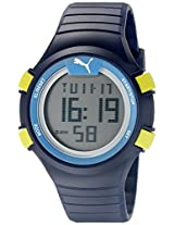 PUMA Unisex PU911261002 Faas 100 S Navy Digital Display Watch