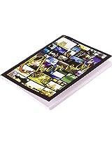 Chennai Gaga Chennai Collage Photos Pocket-size Stapled Notebook (15 x 11 cms)