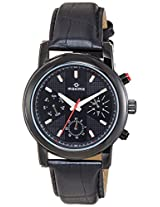Maxima Analog Black Dial Men's Watch - 27162LMGB