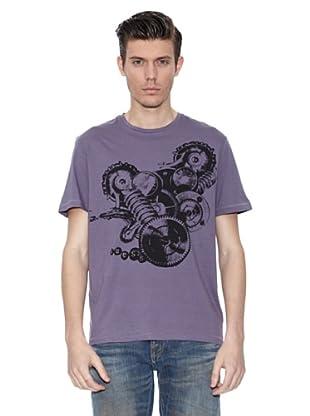 Guess Camiseta Albert (Púrpura)