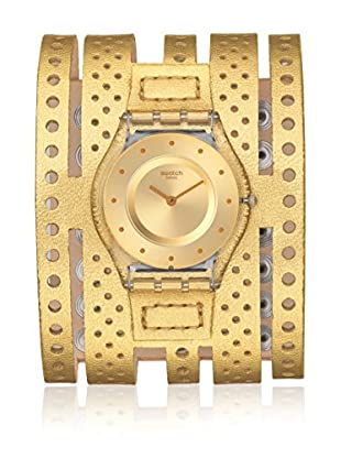Swatch Reloj de cuarzo Unisex Dorata  34 mm