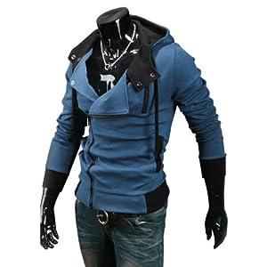 New Assassin'S Creed 3 Desmond Miles Hoodie Costume Coat Jacket Cosplay Hoodie