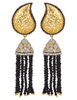 Adwitiya Collection Gold And Pearl Earrings for Women