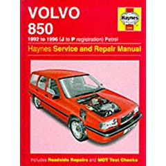 Volvo 850 Service and Repair Manual (Haynes Service and Repair Manuals)