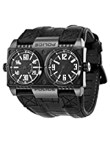Police Analog Black Dial Men's Watch - PL-12899XSB/02