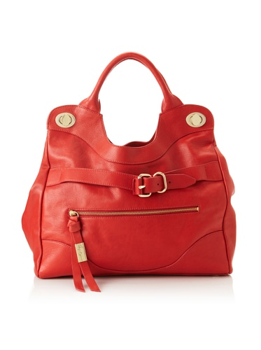 Foley + Corinna Women's Jet Set Tote, Washed Red