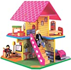 Maxim 4 Sided Playhouse w/ Figure