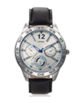 Calvino Men's White Dial Watch CGAS-151480_BLK-WHT