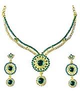 14Fashions Blue Copper Necklace Set For Women_1101335