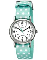 Timex Women's TW2P655009J Weekender Reversible Analog Quartz Green Watch