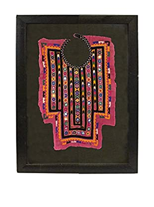 Uptown Down Vintage Framed Tribal Collar, Multi