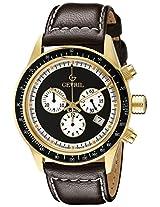 Gevril Men's A2112 Tribeca Analog Display Quartz Brown Watch