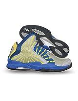Nivia Phantom Basketball Shoes, Men's 10 UK (Blue/Grey)