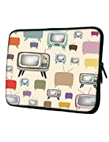 Snoogg Televison Vibes 14 to 14.6 inch Laptop netbook notebook Slipcase sleeve