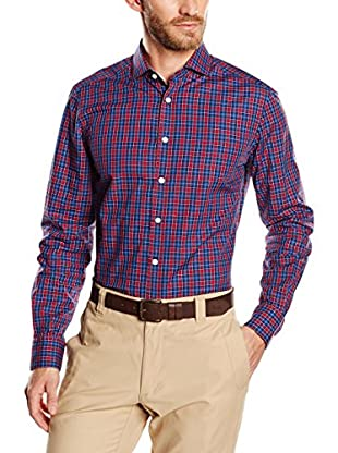 Hackett London Camisa Hombre Burg Check