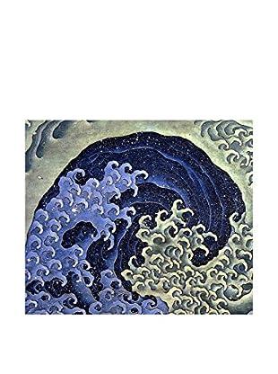 JAPAN MANIA by MANIFATTURE COTONIERE Wandbild Hokusai-Feminine Wave