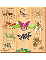 Kinder Creative 10 Insects With Knobs