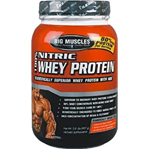 Big Muscles Nitric whey protein 5 Lb