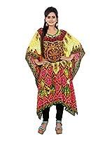 7 Colors Lifestyle Women Georgette Kurta (Aam7004Kfv1Xl _Multi-Coloured _X-Large)