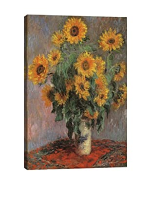 Claude Monet's Sunflowers (1889) Giclée Canvas Print
