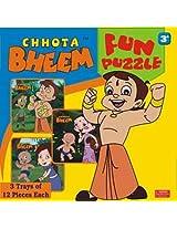 Chhota Bheem Fun Puzzle, Multi Color