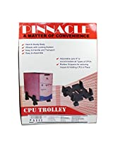 Pinnacle Sturdy Body Adjustable Cord Deluxe Series CPU Trolley