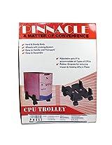 Pinnacle Sturdy Body Adjustable Cord Deluxe Series CPU Trolley