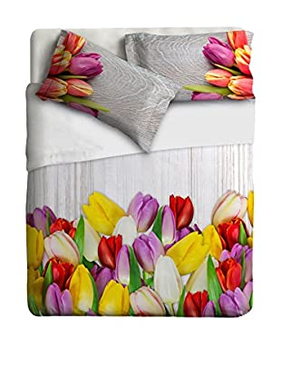 Ipersan Betttuch und Kissenbezug Tulips