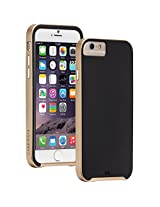 Case-Mate Slim Tough Hard Back Case Cover for Apple iPhone 6 Plus/6s Plus - Black/Gold