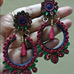 Teju's sRjana - quiling earrings