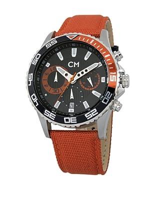 Carlo Monti Herren Chronograph XL Avellino Chronograph Quarz Textil CM509 124A