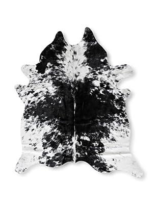 Natural Brand Kobe Cowhide Rug, S & P Black/White, 7' x 5' 5