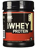 Optimum Nutrition (ON) 100% Whey Protein - 1 lb (Vanilla Ice Cream)