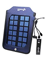 Powerplus Backpack Solar Charger,1000mAhBattery bank,1.5W Solar Panel,Mobile Charger