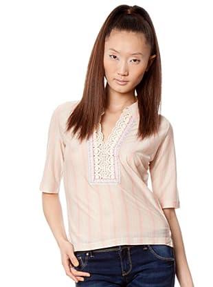 Custo Camisa Yok (Rosa / Azul)