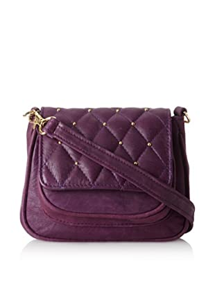 gorjana Women's Hudson Quilted Small Cross-Body, Tie Dye Purple