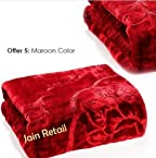 Double bed premium mink blankets at wholesale rate. 220 X 240cms. MADE IN INDIA