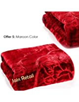 Repose Double Bed Premium Mink Blankets 220 X 240Cms