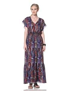 Dolce Vita Women's Midler Maxi Dress with Open Back (Multi)